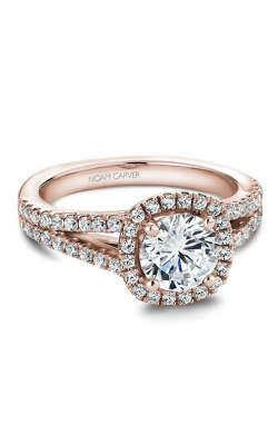 Noam Carver Engagement Ring Halo B015-01RM product image