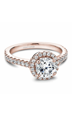 Noam Carver Halo Engagement Ring B029-01RM product image