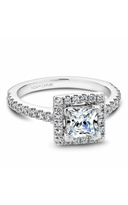 Noam Carver Engagement Ring Halo B029-02WM product image