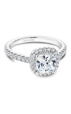 Noam Carver Halo Engagement Ring B029-05WM product image