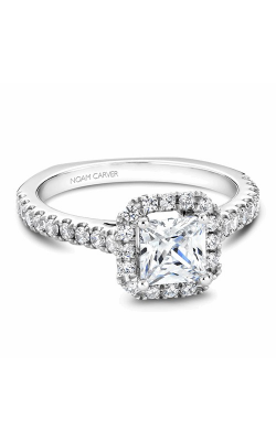 Noam Carver Engagement Ring Halo B034-02WM product image