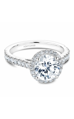 Noam Carver Halo Engagement Ring B034-03WM product image