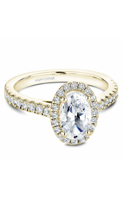 Noam Carver Engagement Ring Halo B034-04YM product image
