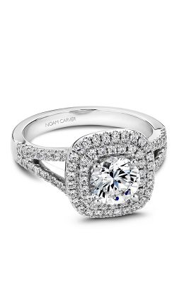 Noam Carver Halo Engagement Ring B035-01WM product image