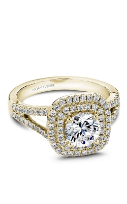 Noam Carver Halo Engagement Ring B035-01YM product image