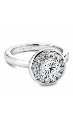 Noam Carver Engagement Ring Halo B037-02WM product image