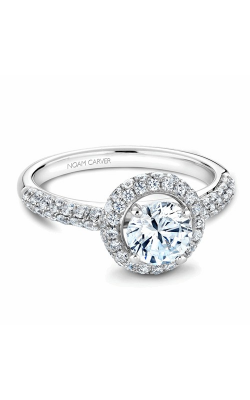 Noam Carver Halo Engagement Ring B071-01WM product image