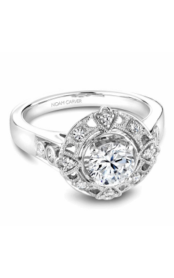 Noam Carver Engagement Ring Halo B073-01WM product image