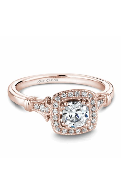Noam Carver Halo Engagement ring B076-01RM product image
