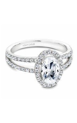 Noam Carver Halo Engagement Ring B092-02WM product image