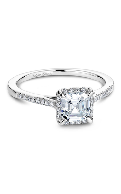 Noam Carver Engagement Ring Halo B094-01WM product image