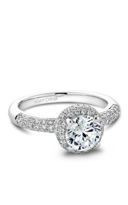 Noam Carver Engagement Ring Halo B100-02WM product image