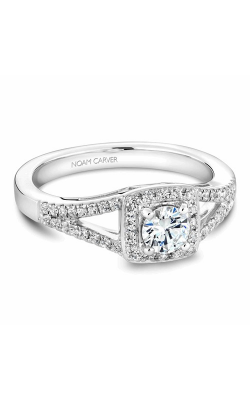 Noam Carver Engagement Ring Halo B100-03WM product image
