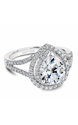 Noam Carver Engagement Ring Halo B100-05WM product image
