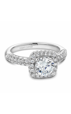 Noam Carver Halo Engagement ring B100-06WM product image