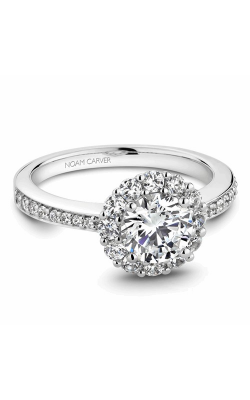 Noam Carver Engagement Ring Halo B100-07WM product image