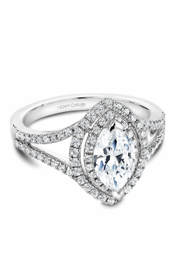 Noam Carver Halo Engagement Ring B100-08WM product image