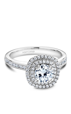Noam Carver Halo Engagement ring B145-08WM product image