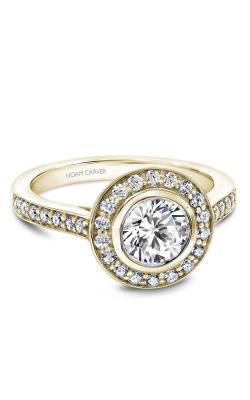 Noam Carver Halo Engagement Ring B153-01YM product image