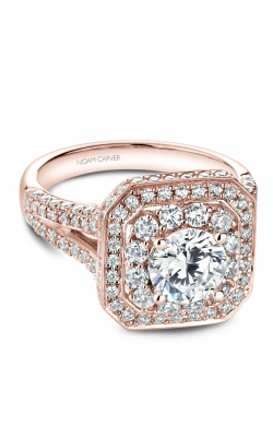 Noam Carver Halo Engagement Ring B158-01RM product image