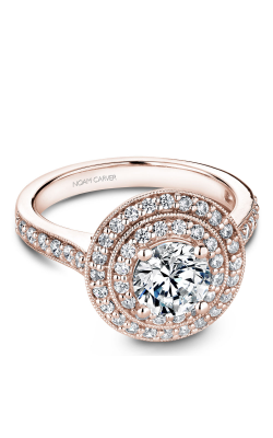 Noam Carver Halo Engagement Ring B183-01RM product image