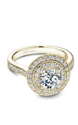 Noam Carver Halo Engagement ring B183-01YM product image
