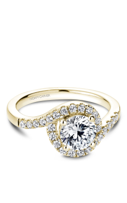 Noam Carver Halo Engagement Ring B186-01YM product image