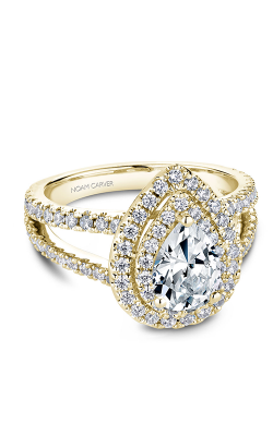 Noam Carver Halo Engagement ring B211-01YM product image