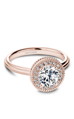 Noam Carver Halo Engagement Ring R021-01RM product image