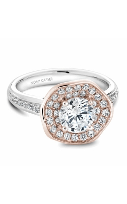 Noam Carver Engagement Ring Floral B014-05WRM product image
