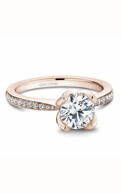 Noam Carver Engagement Ring Floral B019-01RM product image