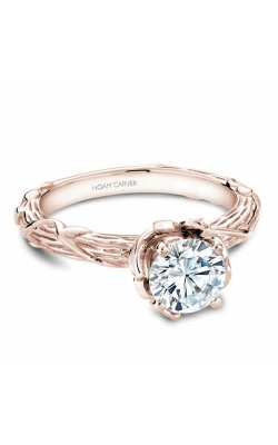 Noam Carver Engagement Ring Floral B081-01RM product image