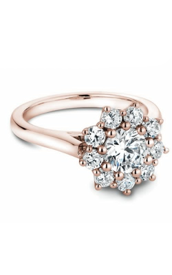 Noam Carver Engagement Ring Floral B090-01RM product image