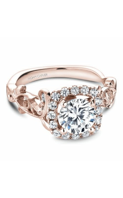 Noam Carver Engagement Ring Floral B151-01RM product image