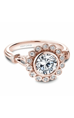 Noam Carver Floral Engagement Ring B170-01RM product image