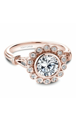 Noam Carver Engagement Ring Floral B170-01RM product image