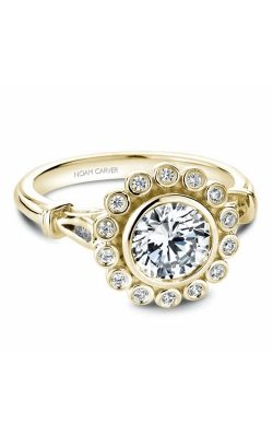 Noam Carver Floral Engagement ring B170-01YM product image