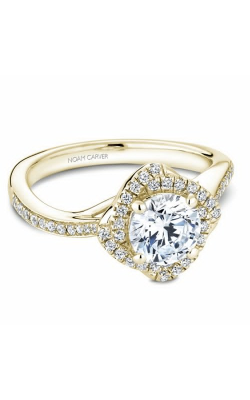 Noam Carver Floral Engagement Ring B176-01YM product image