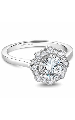 Noam Carver Floral Engagement Ring B243-01WM product image