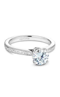 Noam Carver Vintage Engagement Ring B140-02WME product image