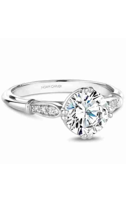 Noam Carver Vintage Engagement Ring B267-01WM product image