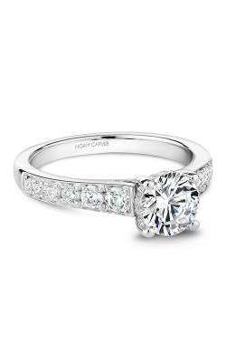 Noam Carver Modern Engagement Ring B233-01WM product image