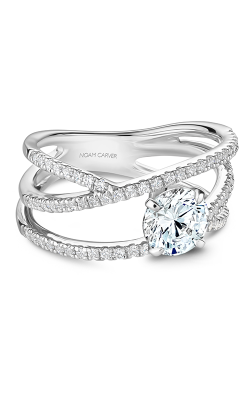 Noam Carver Engagement Ring Modern B249-01WM product image