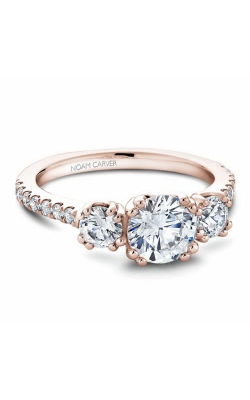 Noam Carver 3 Stone Engagement ring B001-05RM product image
