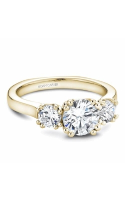 Noam Carver 3 Stone Engagement Ring B001-07YM product image
