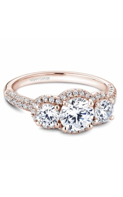 Noam Carver 3 Stone Engagement ring B184-01RM product image