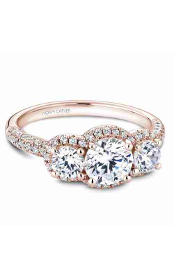 Noam Carver Engagement ring 3 Stone B184-01RM product image