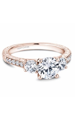 Noam Carver 3 Stone Engagement ring B206-01RM product image