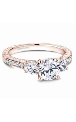 Noam Carver Engagement ring 3 Stone B206-01RM product image