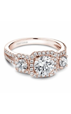 Noam Carver 3 Stone Engagement Ring B210-01RM product image